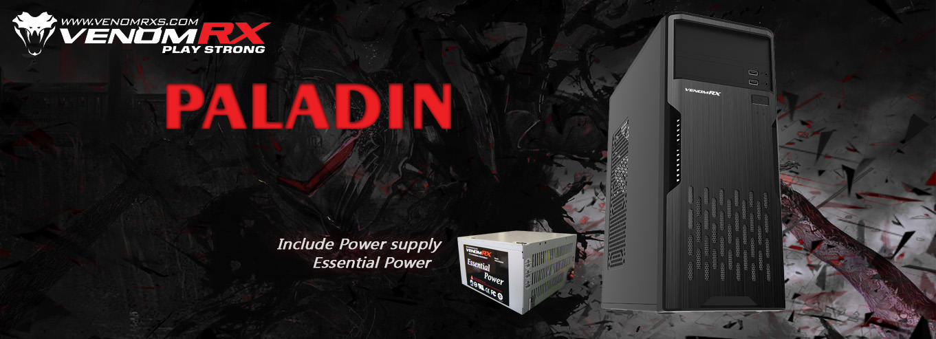 Paladin new Venom RX web banner